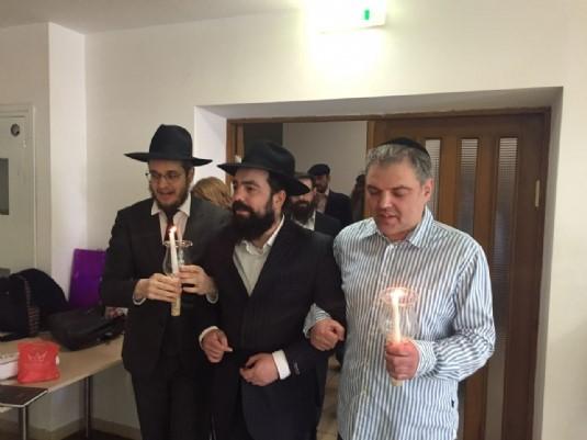 Минск: Свадьба ученика «Колель Тора» на кануне 11 Нисана – подарок Ребе
