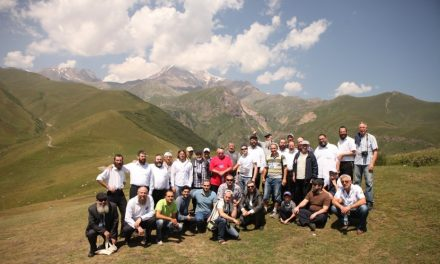Мужской семинар в Гудаури (Грузия)